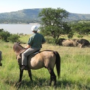 Horseriding at Spionkop